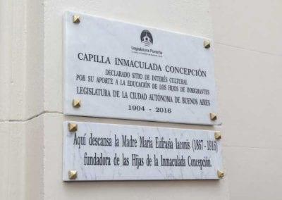 Capilla Inmaculada Concepción declarada Sitio de Interés Cultural