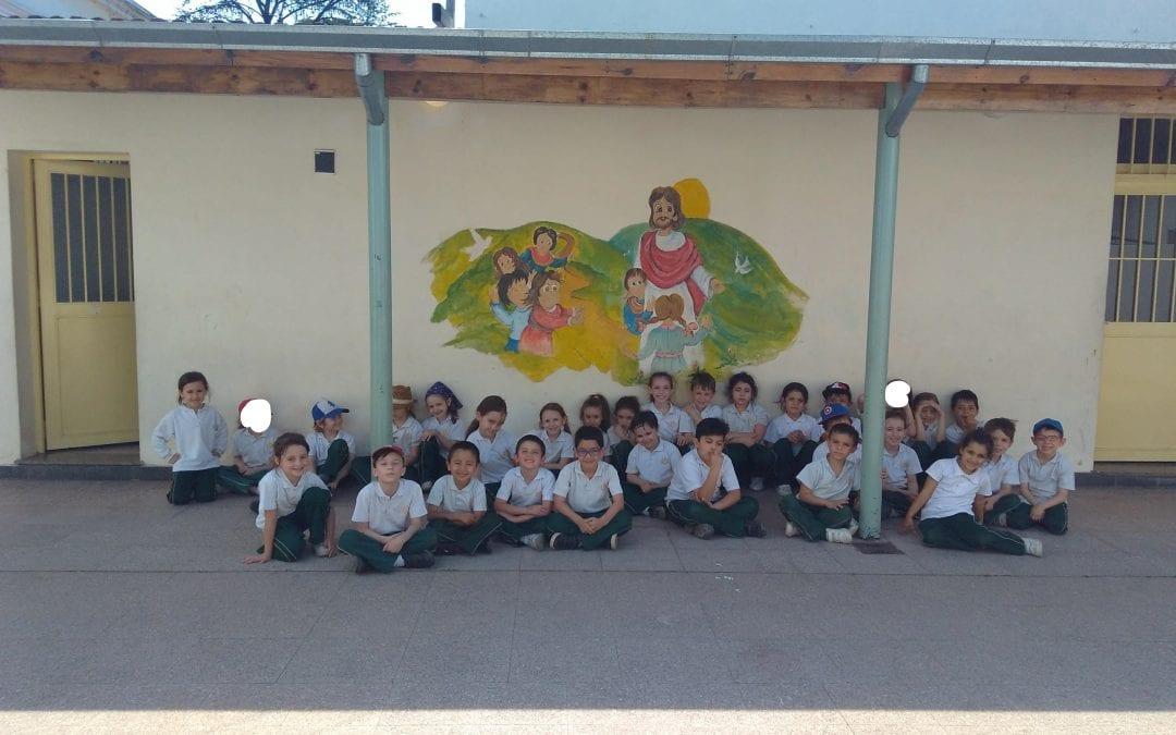 1º grado «B» en Montegrande