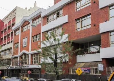 Instituto Inmaculada Concepción - entrada Humahuaca