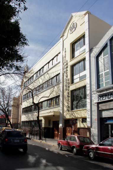 Instituto Inmaculada Concepción - entrada Mario Bravo