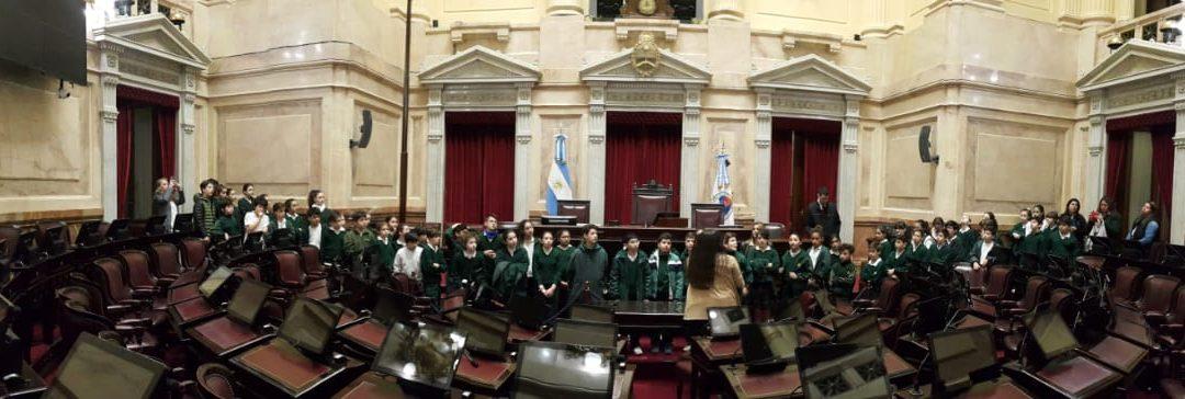 Visita al Congreso de la Nación