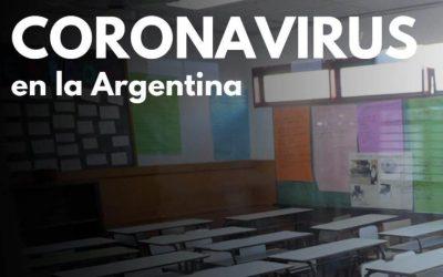 Clases en Período de Cuarentena por Coronavirus