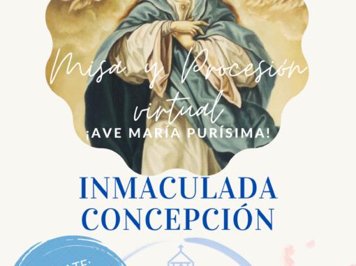 Solemnidad Inmaculada Concepción 2020