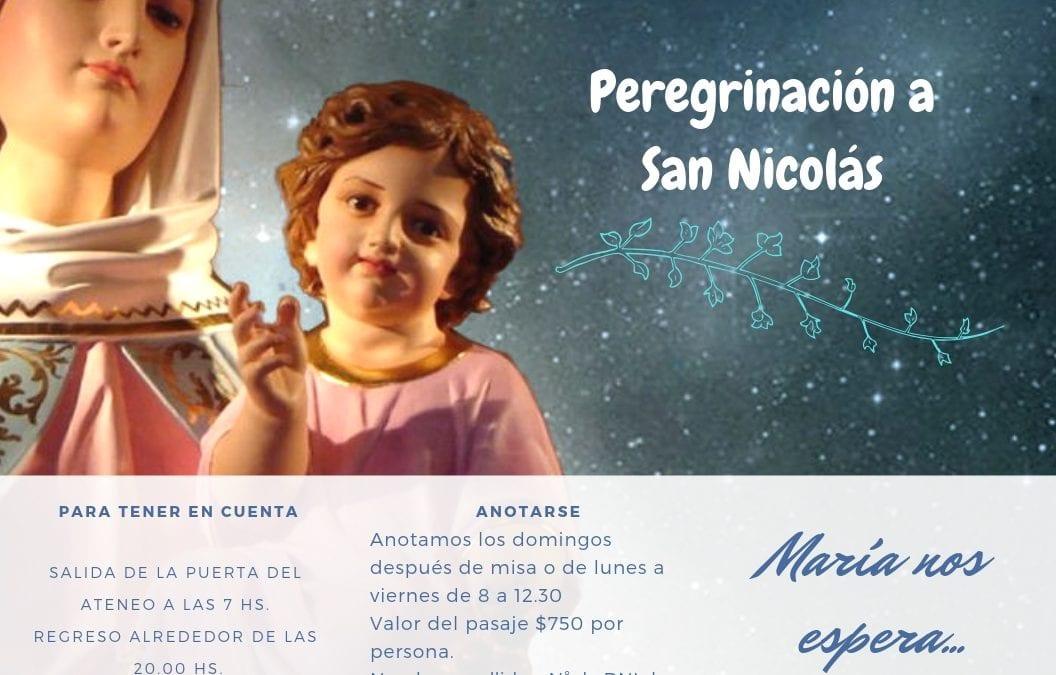 Pergrinación a San Nicolás