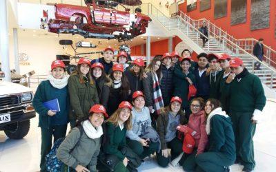 Visita de 4to año a Toyota